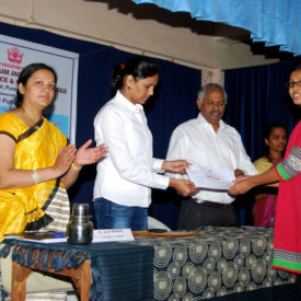 Intercollegiate Essay Competition Certificate Distribution