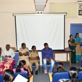 Lecture on Women Security by PSI Pratima Joshi